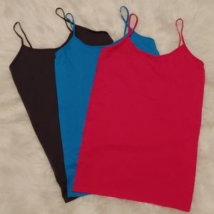3 Active Basics 1X Camisoles